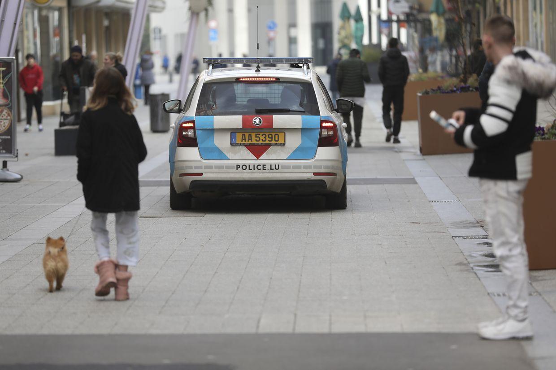 Dès le début de la semaine, la police patrouillait dans les rues.