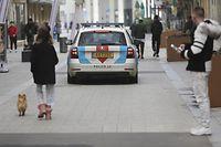 Corona-Virus, Polizeikontrolle Alzettestrasse, Esch Alzette, Foto: Guy Wolff/Luxemburger Wort