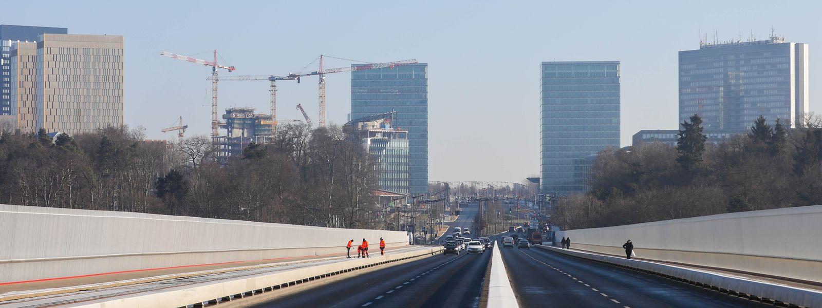 Entlang der Avenue Kennedy tut sich eigentlich immer was. In diesem Jahr werden dort sogar mehrere große Neubauten eingeweiht.
