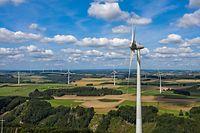 L'énergie éolienne représente 27% de la production d'énergie nationale.
