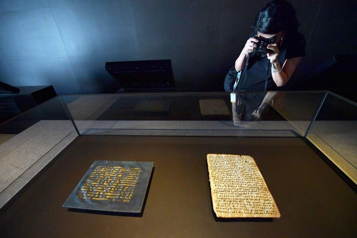 Un exemplaire ancien du Coran