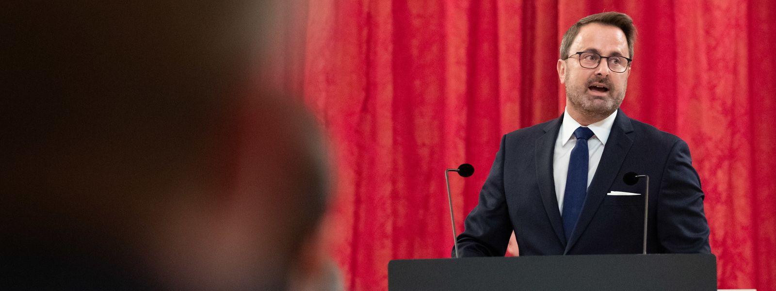 Dans un discours de près de deux heures, Xavier Bettel a dressé un état des lieux du Luxembourg pas encore en situation post-covid.
