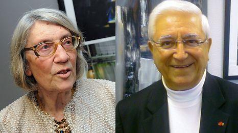 """Maria Manuela Aguiar e o padre Vítor Melícias vão apresentar os livros Rostos da Emigração"""" e """"Visages de l'Emigration Portugaise""""."""