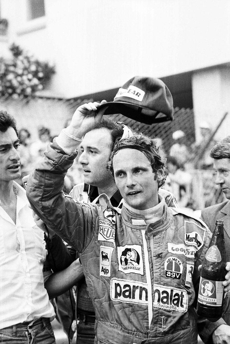 27 mai1976, Niki Lauda après le GP de Monaco.