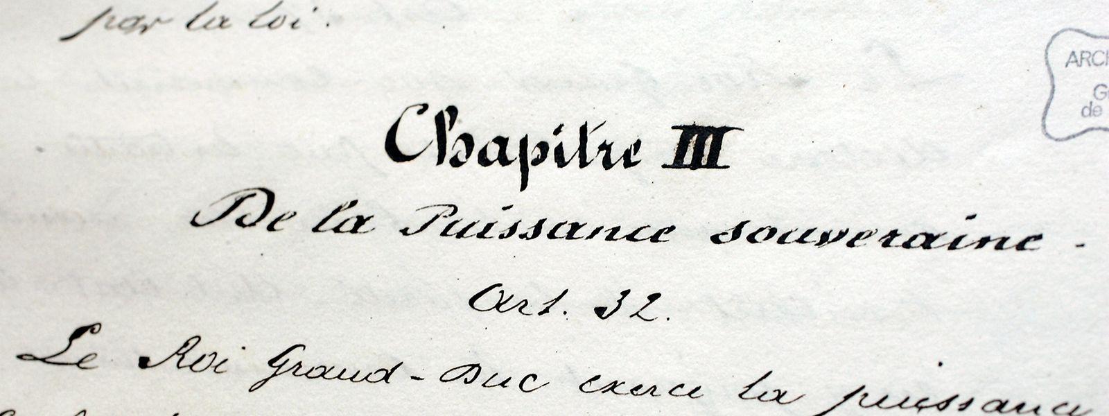 Die aktuelle Verfassung stammt aus dem Jahr 1868.