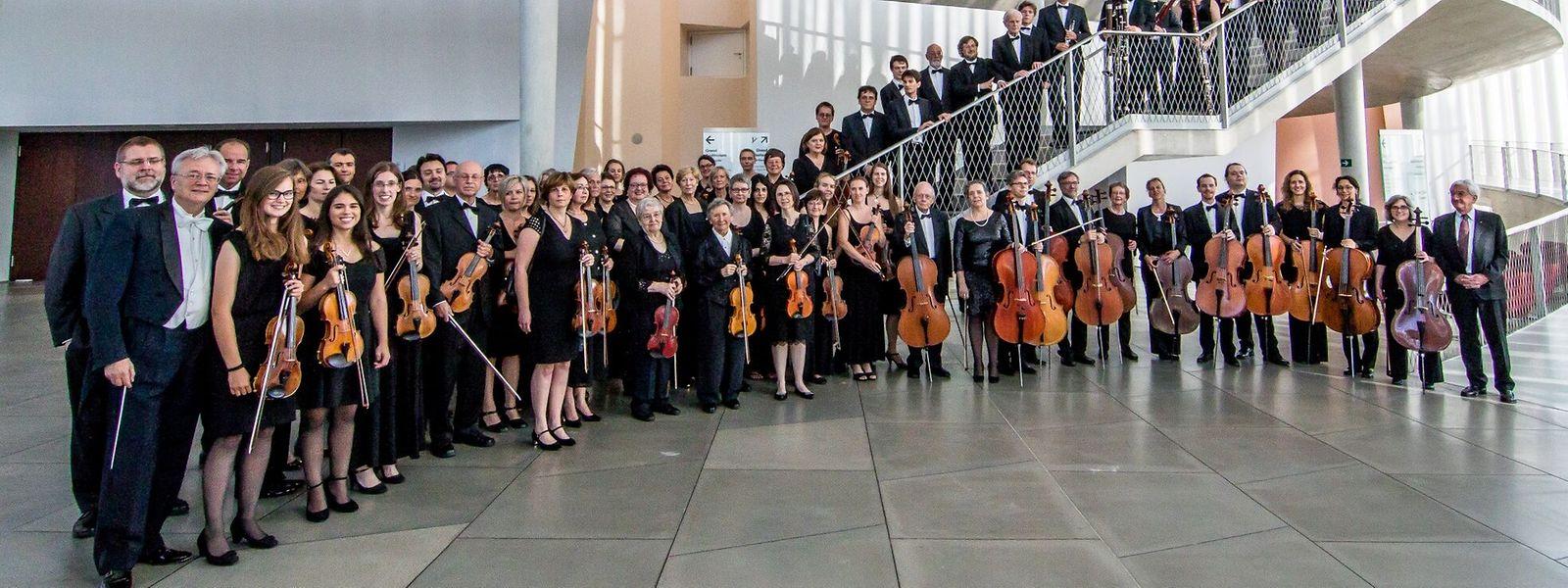 Die Freude am gemeinsamen Musizieren bleibt das höchste Ziel der rund 85 Mitglieder des Ensembles.