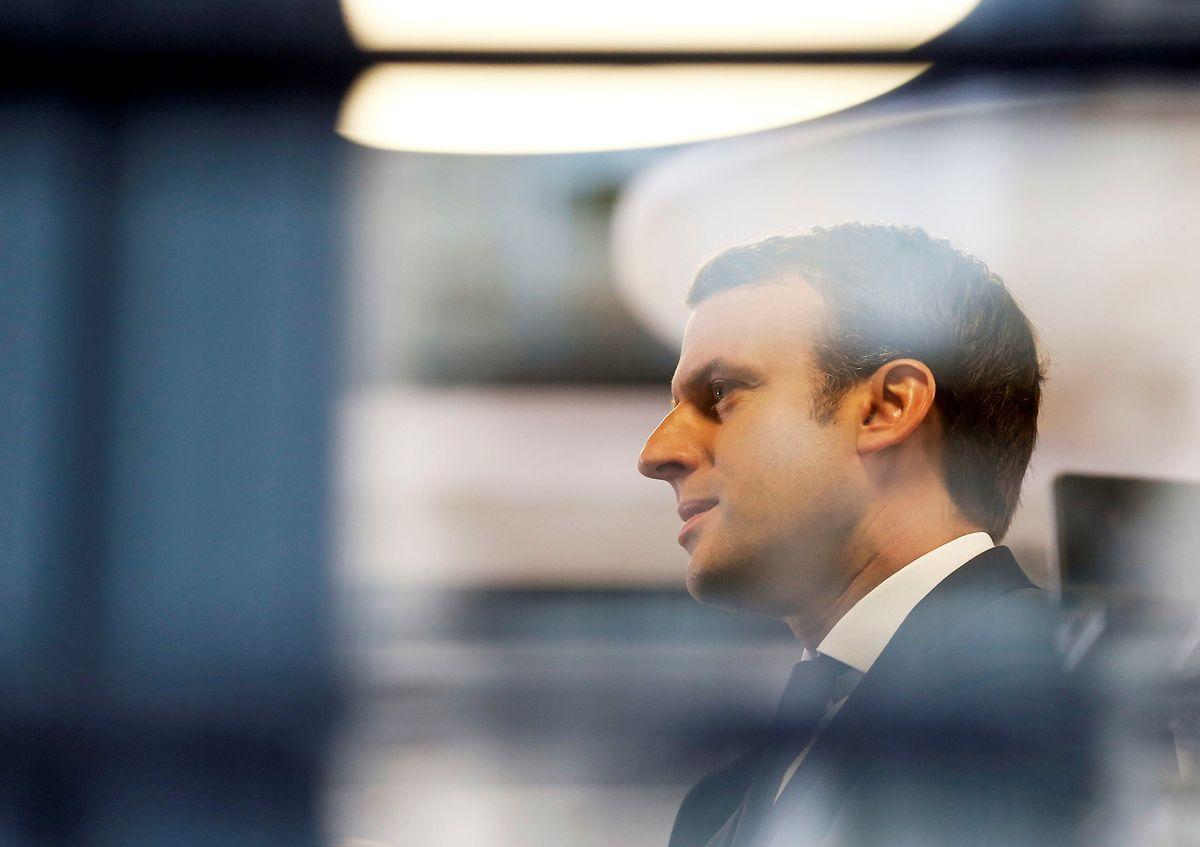 Emmanuel Macron liegt nach letzten Umfragen bei knapp 60 Prozent.