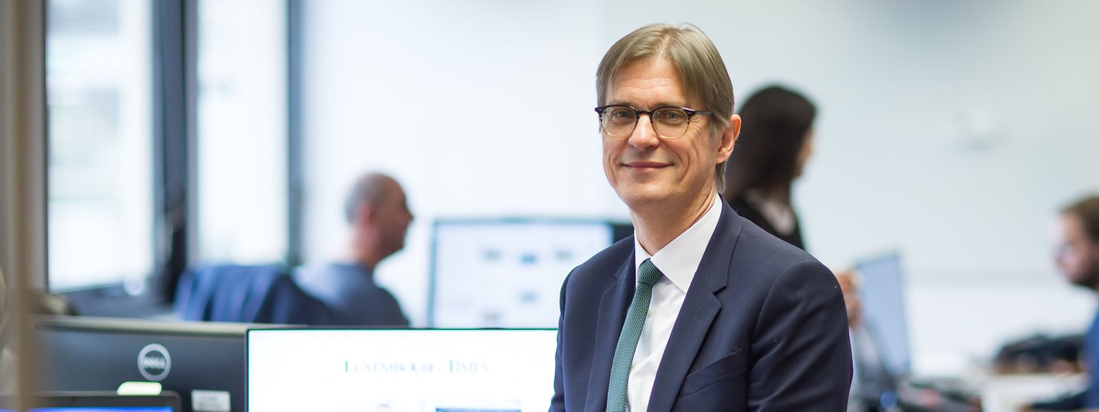 Der gebürtige Niederländer Douwe Miedema ist neuer Chefredakteur der Luxembourg Times.