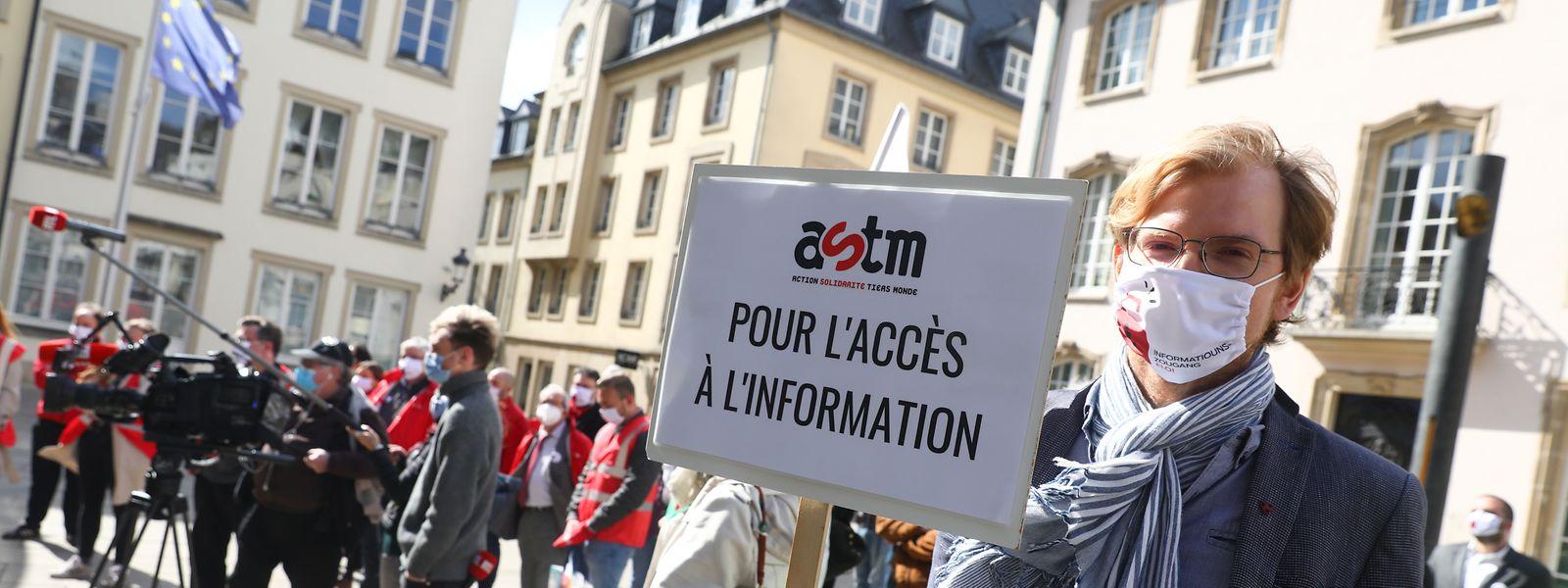 Die Journalisten fordern seit Jahren ein verbrieftes Recht auf den Zugang zu Informationen.