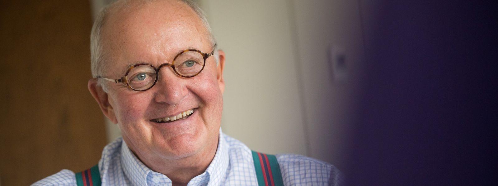 War von 1998 bis 2014 Chef der Deutschen Bank Luxembourg: Der aus dem Rheinland stammende Ernst Wilhelm Contzen.