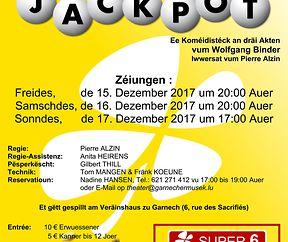 D'Garnecher Musek spillt Theater - JACKPOT