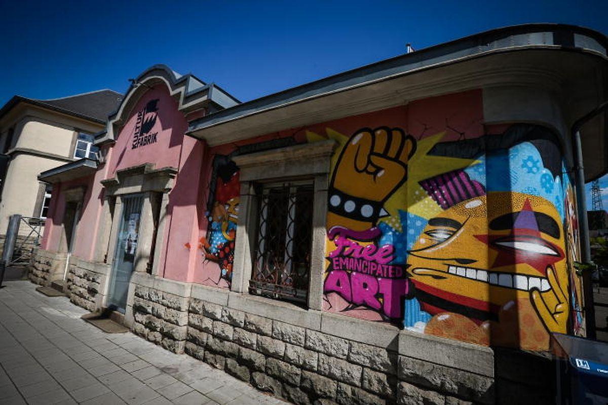 Language cafe at Kulturfabrik Photo: Pierre Matgé