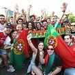 A festa portuguesa com a conquista do título nas ruas da capital