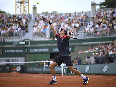 Gilles Muller unterlag im Einzel in der ersten Runde.