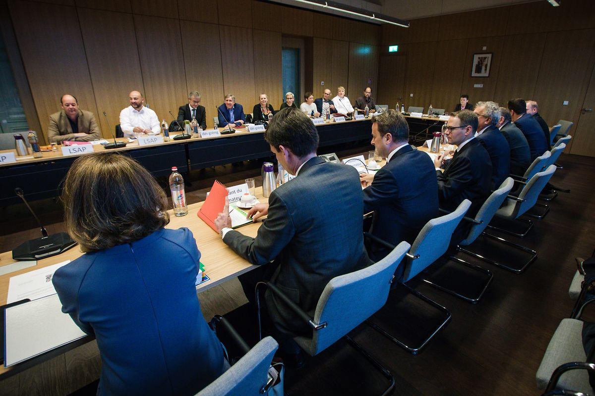 Les négociations de coalition