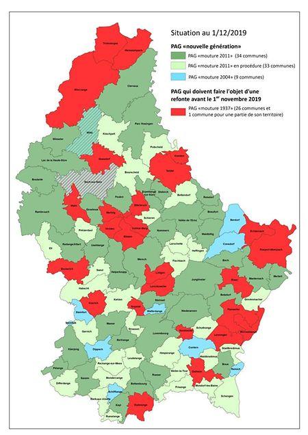 Le nombre des communes qui ne sont pas en règle recule lentement dans le pays.