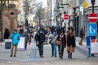 Lokales, Wiedereröffnung der Geschäfte, Covid-19, Coronavirus, foto: Chris Karaba/Luxemburger Wort