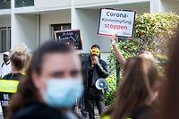 Mehrere Konten und Seiten der deutschen Impfgegner-Szene wurden auf Facebook und Instagram gelöscht.