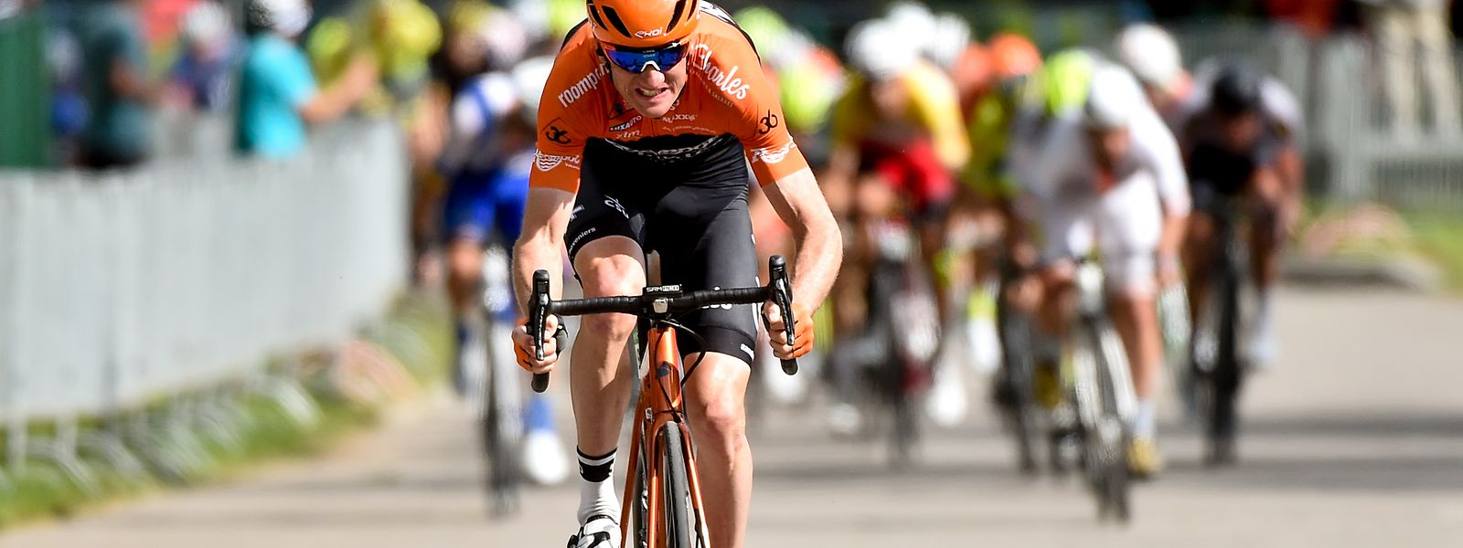Pieter Weening gewann 2019 die zweite Etappe der SkodaTour de Luxembourg.