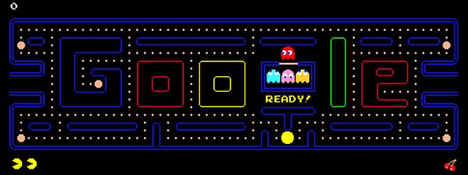 Même Google a su rendre hommage au célèbre jeu.