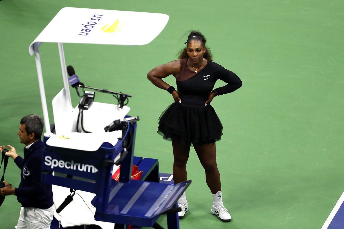 Serena Williams und Schiedsrichter Carlos Ramos gerieten oft aneinander.