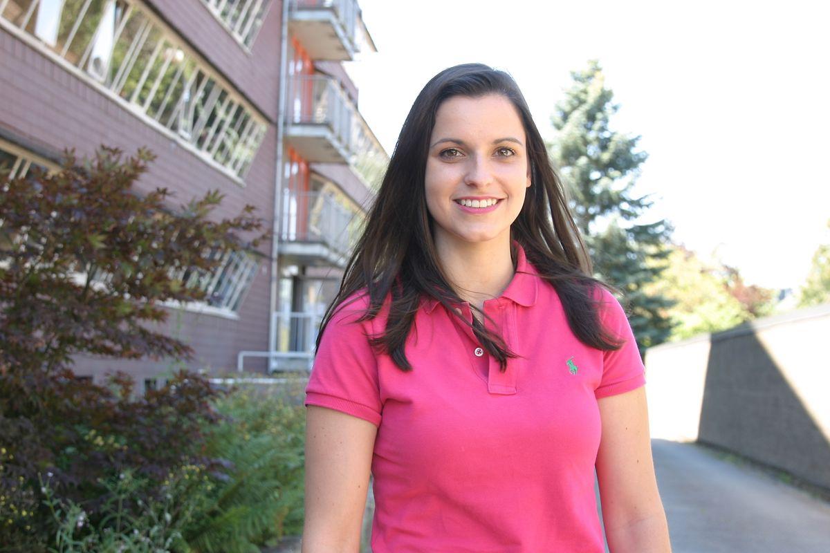 Aline Crouvoisier, 23 ans: «Je n'aurais jamais pensé tomber là-dedans en finissant mes études et au final, je suis vraiment contente!»