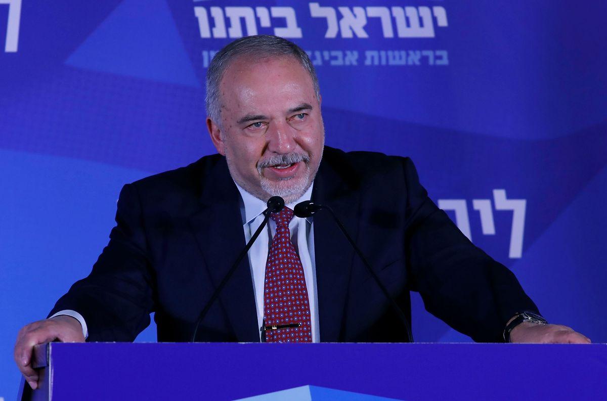Avigdor Lieberman, Chef der ultrarechten Partei Israel Beitenu.