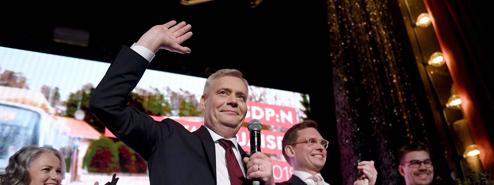 Der Chef der finnischen Sozialdemokraten, Antti Rinne, steht jetzt vor einer schwierigen Regierungsbildung.