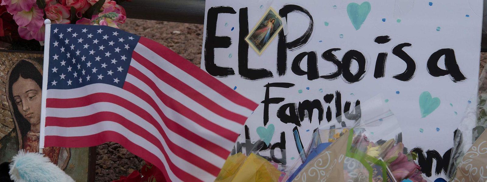 Bei einer Schießerei vor einem Einkaufszentrum in El Paso kamen 20 Menschen ums Leben.