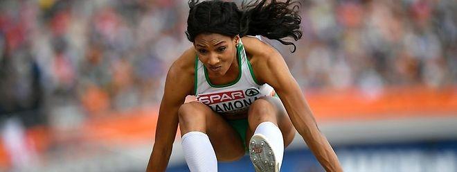 Atual campeã europeia absoluta, Patricia Mamona foi sétima e primeira repescada para a final, com 14,03 metros