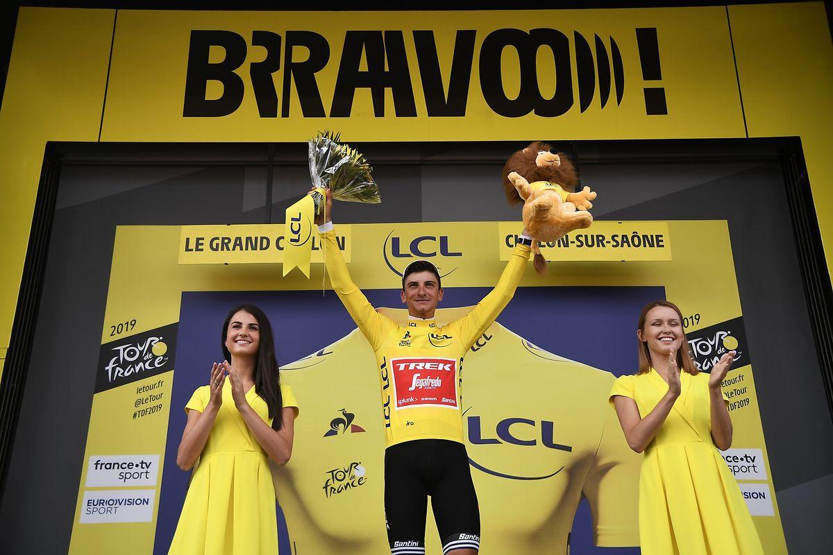 Giulio Ciccone est assuré de porter le maillot jaune une deuxième journée.