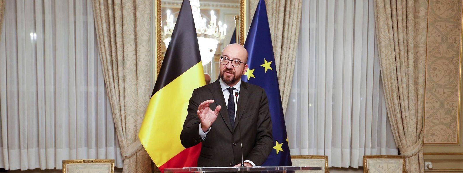 Belgiens Premierminister Charles Michel muss jetzt neue Mehrheiten finden.