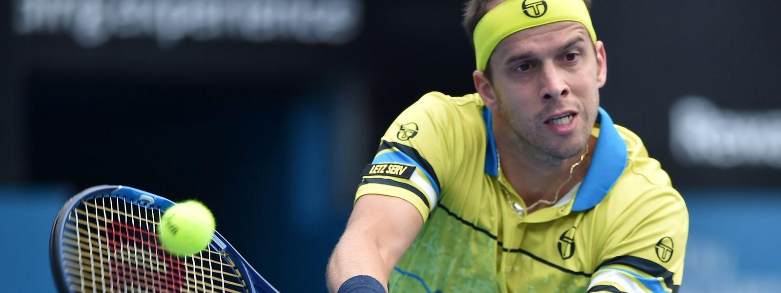 Gilles Muller trifft nun im Viertelfinale auf Guillermo Garcia-Lopez