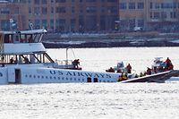 Sämtliche 155 Menschen an Bord überlebten die Notwasserung des US-Airways-Fluges 1549.