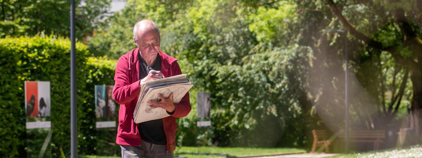 Der 60-Jährige ist im Alter von zwei Jahren aus Italien nach Luxemburg gekommen. Der Merler Park istseitdem eine Konstante in seinem Leben.