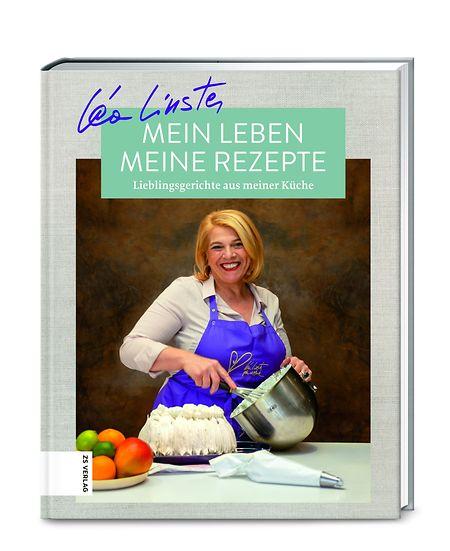 """Léa Linster: """"Mein Leben, meine Rezepte"""", ZS Verlag, 176 Seiten, ISBN: 978-3-89883-873-3, € 24,99"""