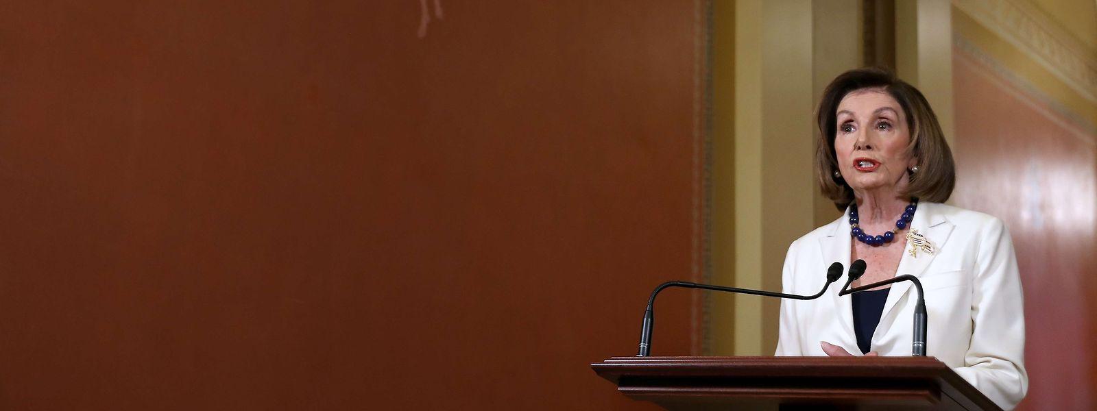 Nancy Pelosi a demandé le lancement de la procédure d'«impeachement».