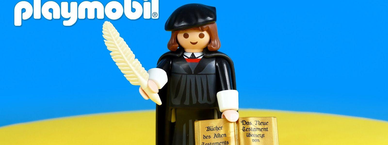 Der Mini-Luther ist die erfolgreichste Playmobil-Figur aller Zeiten.
