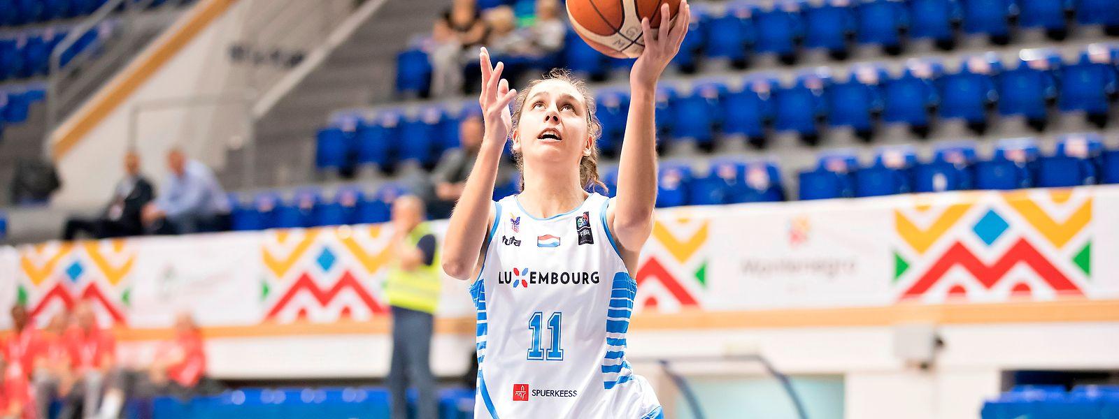 Mandy Geniets war Teil der Nationalmannschaft bei den Spielen der kleinen europäischen Staaten in Montenegro.