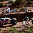 Sébastien Loeb et Daniel Elena ont frappé d'entrée. L'ancien champion du monde WRC a signé son premier succès sur le Dakar.