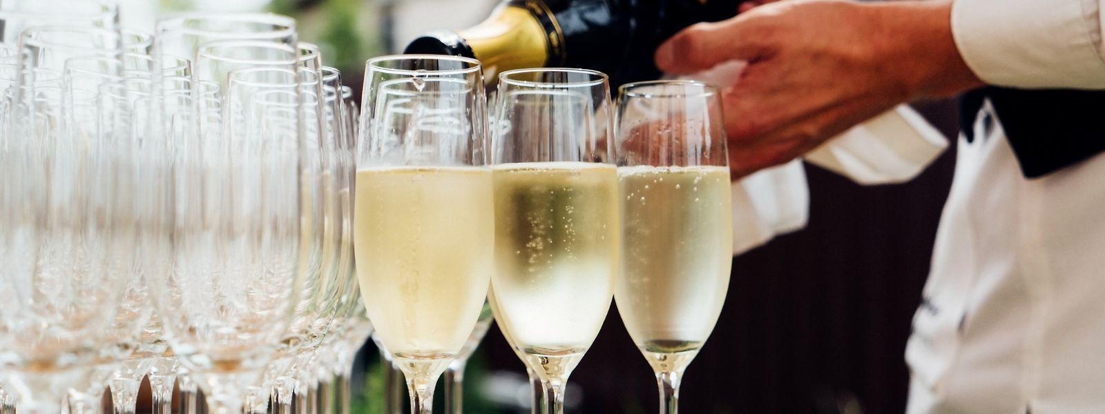 Champagner geht immer - fand zumindest Napoleon.