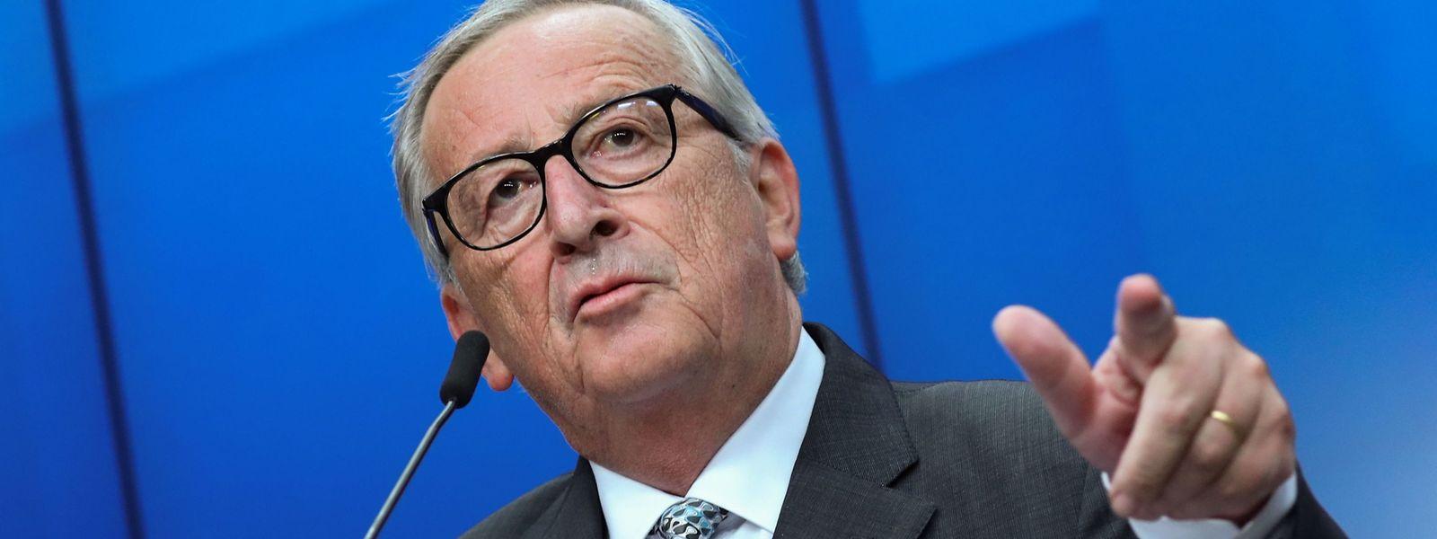 EU-Kommissionspräsident Jean-Claude Juncker hofft auf rasche Erklärungen aus London.