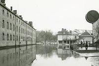 Die Rue du Pont in Echternach - das Bild sollte sich elf Monate später wiederholen.
