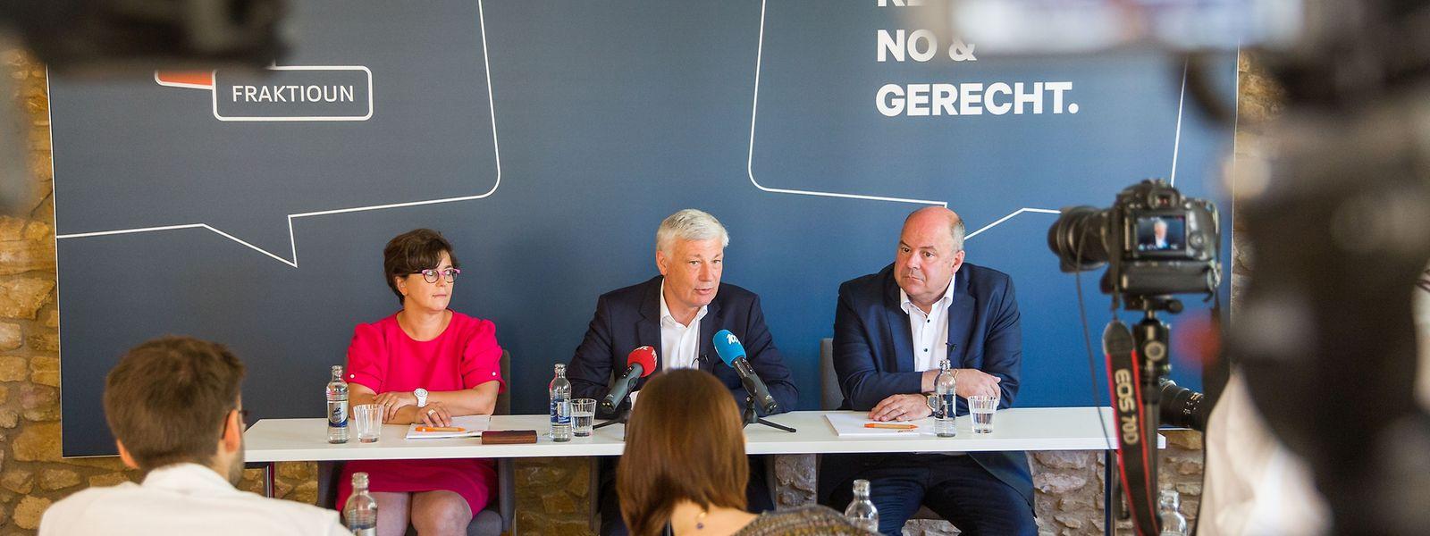 Bilan parlementaire CSV + Fraktiounsiessen, Foto Lex Kleren