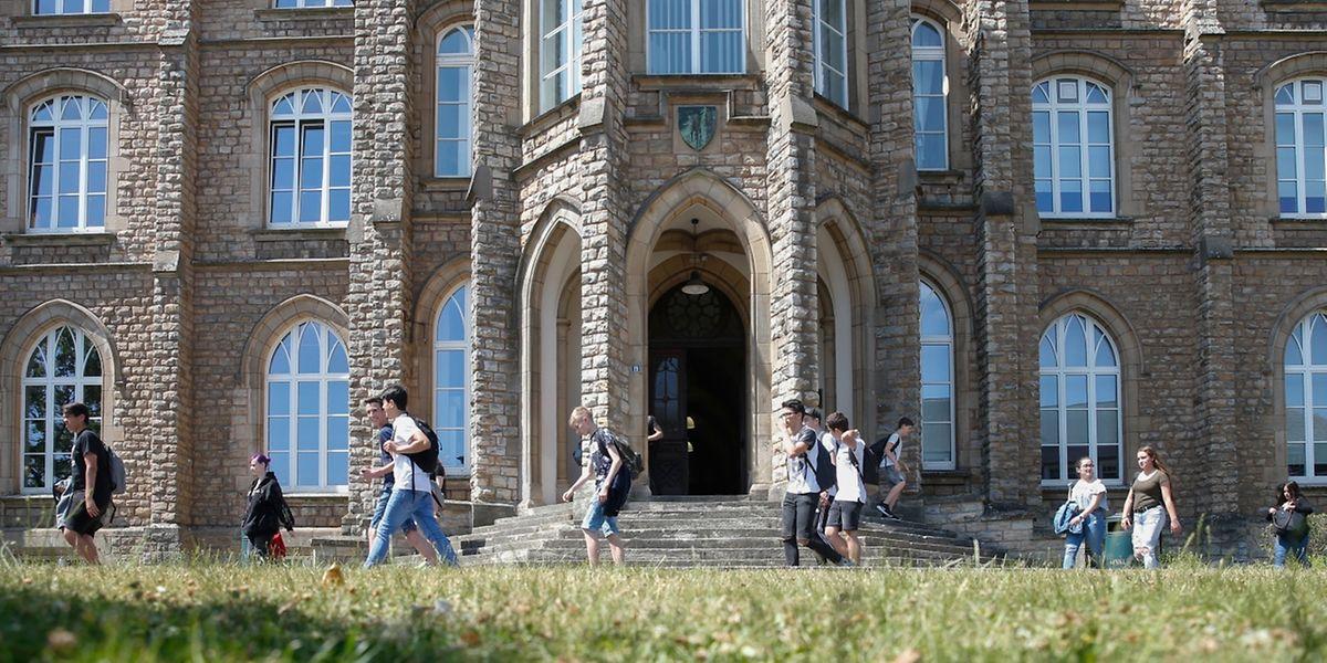 """Einige Abschlussschüler des """"Lycée des arts et métiers"""" haben ab Mittwoch Urlaub."""