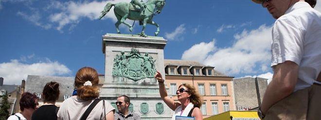 Die geführten Touren durch die Stadt Luxemburg sind weiterhin sehr beliebt.