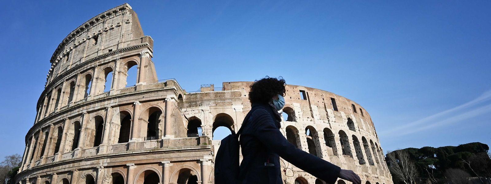 Auch Rom leidet unter dem Corona-Virus.
