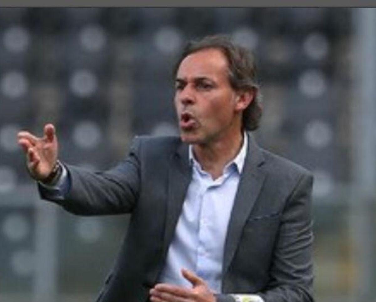 O treinador Quim Machado que entre 2001 e 2003 jogou como futebolista no Dudelange.