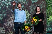 Robert Habeck und Annalena Baerbock erzielten ein Rekordergebnis.