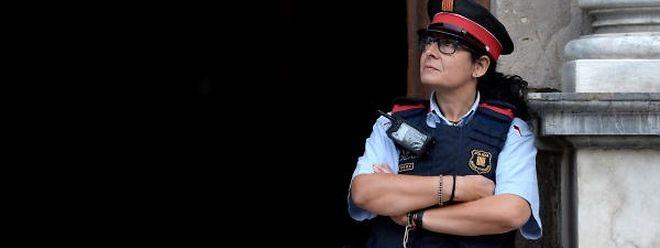 Mit der Polizeiverstärkung wollte Madrid das Unabhängigkeitsreferendums verhindern.